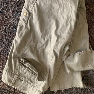 Lt green jeans by revolt sz5